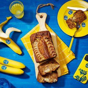 Facile banana bread vegano di Chiquita