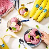 Nice cream con banane congelate di Chiquita