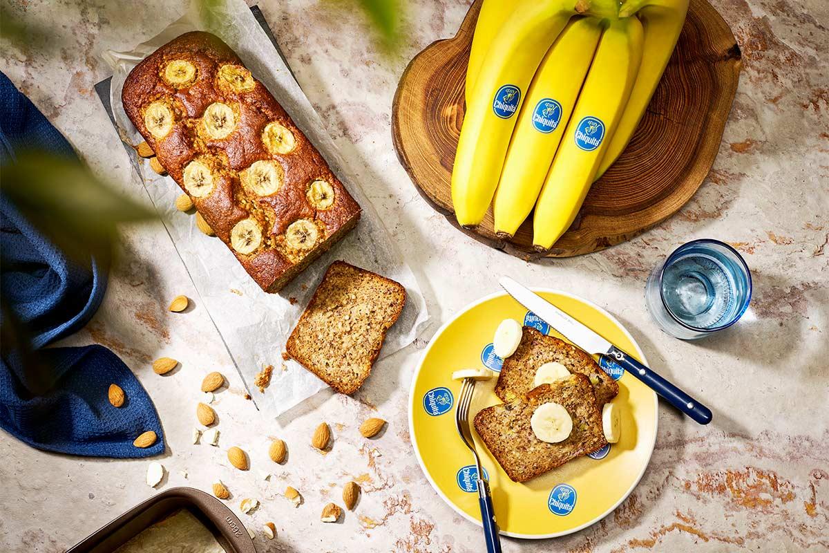Banana bread paleo di Chiquita