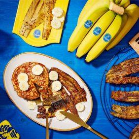 Pancetta vegana alla buccia di banana di Chiquita