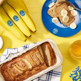 Banana bread integrale per la dieta DASH di Chiquita