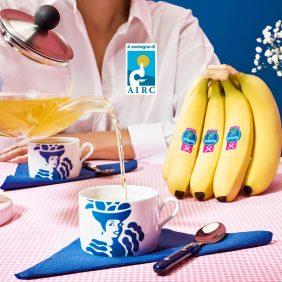 Tisana alla banana Chiquita e camomilla